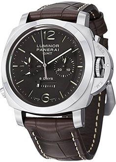 Panerai Men's M00311 Luminor 1950 8 Days Chrono Monopulsante GMT Titani Chronograph Watch