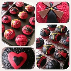 You! Me! Baking!: Freedom, beauty, truth and love - Moulin Rouge Cupcakes