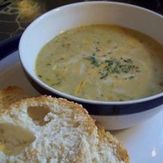Vegetable Cheese Soup I Allrecipes.com
