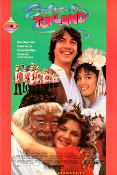 Doctor Who photobombs Babes in Toyland! That's Keanu Reeves! kn