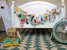 DIY Fabric Garland | Decorating and Design Blog | HGTV