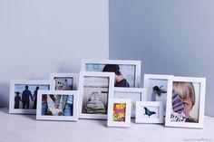 Komplet dziesięciu ramek w minimalistycznym i uniwersalnym stylu. Zadbaj o to, aby najlepsze wspomnienia znalazły odpowiednie miejsce w Twoim domu. Nasze ramki będą odpowiednią oprawą dla wyjątkowych fotografii. Idealny prezent dla rodziców, pary lub ukochanej osoby.