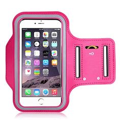 iPhone Plus Armband,UTLK Running Sports Armband for iPhone 6 Plus / Plus Defender Case with Key Holder Slot,Easy Earphone Connection Rose (Compatible with Cellphones up to Inch) Buy Iphone, Iphone Cases, Jogging, Arm Workout With Bands, Sport Armband, Smartphone, Running Accessories, Running Workouts, Running Tips