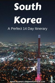 Korea Itinerary - A 14 day itinerary that offers the perfect introduction to the land of morning calm. Must-Vist Places in South Korea Seoul Korea Travel, Asia Travel, Places To Travel, Cool Places To Visit, Travel Destinations, Travel Guides, Travel Tips, Budget Travel, Travel Plan