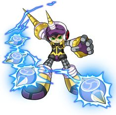 Beck Dynatron from Mighty No. 9