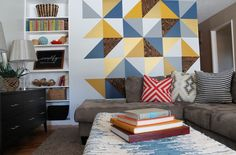 Decorazioni geometriche per pareti