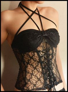 Black Lace -- feminine, beautiful, mysterious, and sexy! by whiteriver51 on Etsy