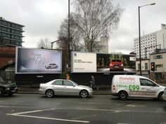 January's #motor #OOH battle for the #HighStreet - #BMW new #3series v #Audi #Q3 - BMW use of #DOOH more widespread....