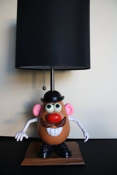 Mr.PotatoHead Lamp..This is an awesome gift idea for just the right person.