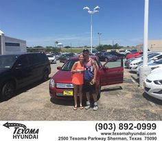 https://flic.kr/p/KEFFKs | Happy Anniversary to Amanda on your #Ford #Fusion from Mike Red Robinson at Texoma Hyundai! | deliverymaxx.com/DealerReviews.aspx?DealerCode=L967