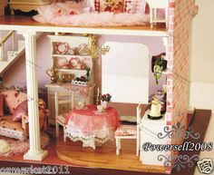 European Wooden DollHouse