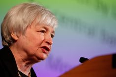 President Obama is nominating Janet Yellen to run the Federal Reserve. Here are a few key facts about Yellen, and how she's likely to run the Fed. Janet Yellen, Land Of The Free, Student Loans, Women In History, Data Visualization, Change The World, Ny Times, Obama, Hold On