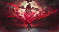 Devil girl #wallpaper #anime Dark Fantasy Art, Fantasy Artwork, 3d Artwork, Final Fantasy, Live Wallpapers, Animes Wallpapers, Armor Female, Witcher Wallpaper, Anime Devil