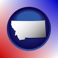 Montana directory map icon