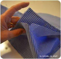 diy. tutorial, paso a paso, cómo hacer una mochila de niño con patrones gratis.