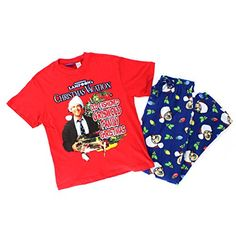 Christmas Vacation Mens 2 pc Pajamas Set (M, Red/Blue Griswold Family) Warner Bros. http://www.amazon.com/dp/B00WV1RLGW/ref=cm_sw_r_pi_dp_3Xo0wb1PD1C9E