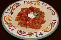 Foto de la receta de burritos de frijoles vegetarianos