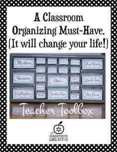 classroom organizing