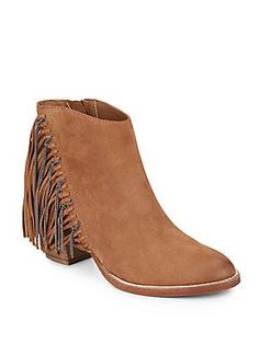 was $200.00  now $99.99 Juneau chain and leather fringe bootie