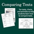 In this file, youll find resources to help students learn how to systematically compare and contrast texts. Great for CC Standard 5!  Comparing Po...
