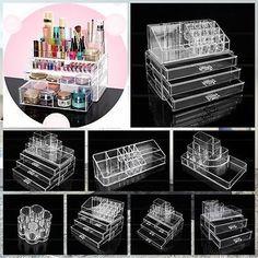 NEU 9 Modell Kosmetik Organizer Make Up Aufbewahrung Ständer Schubladen Box  In Beauty U0026 Gesundheit