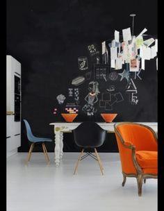 Graffiti party dans la cuisine de Christine Daval (propriétaire de Moissonnier)