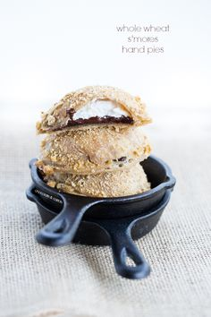 Whole Wheat S'mores Hand Pies | chocolateandcarrots.com