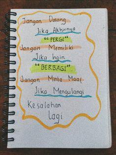 Text Quotes, Qoutes, Quotes Galau, Self Reminder, Quotes Indonesia, Captions, Inspirational Quotes, Random, Words