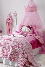 Päiväpeitto koululaiselle, jotain vaaleanpunaista ja prinsessamaista on toiveena.