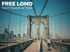 Free Lomo Photoshop Action