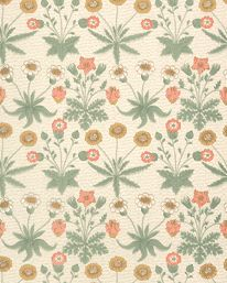 Daisy Artichoke/Plaster från William Morris & Co