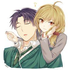 Seo Yuzuki & Wakamatsu Hirotaka | Gekkan Shoujo Nozaki-kun! #anime
