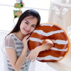 SHARE & Get it FREE   Soft Plush Chocolate Candy Doughnut Shape PillowFor Fashion Lovers only:80,000+ Items·FREE SHIPPING Join Dresslily: Get YOUR $50 NOW!