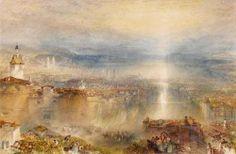 Joseph Mallord William Turner - Zurich (1842)