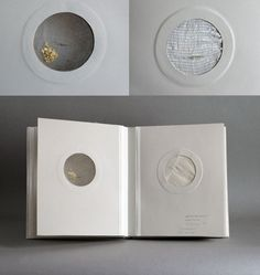 Artists book by Natalie Stopka. Specimens: antique textiles, hand embroidery