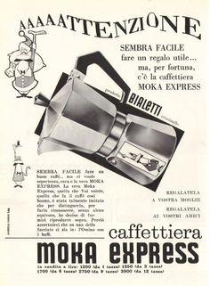Renato Bialetti | Moka 1946 #cafeteras #italianas #moka #bialetti