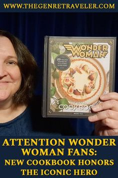Have you ever wondered what Wonder Woman ate for breakfast? Wonder no longer. Insight Editions has published Wonder Woman: The Official Cookbook, due on Nov. 17 (you can pre-order now). Superhero Theme Party, Comic 8, Vegetarian Cookbook, Star Comics, Tv Reviews, Recipe Instructions, New Cookbooks, Peace On Earth, Science Fiction