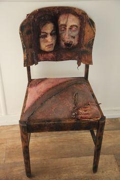 Ed Gein skin chair
