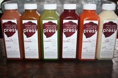 Portland Juice Press | Eat, Drink and Be Aware Juicing, Hot Sauce Bottles, Portland, Snacks, Drinks, Eat, Awesome, Tapas Food, Juice