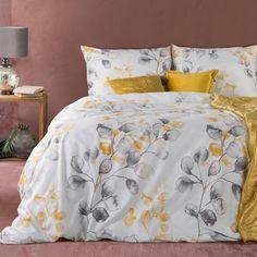 Komplet pościeli ADA z nadrukiem z gałązkami z mikrowłókna (360364) - sklep internetowy Eurofirany Comforters, Blanket, Bed, Home, Creature Comforts, Quilts, Stream Bed, Ad Home, Blankets
