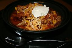 taco soup crock pot