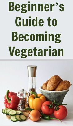 Simple guide for any beginner looking tobecoming vegetarian. It doesn't have to be so difficult or frightening with these quick and easy steps.