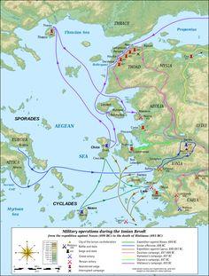 The Ionian Revolt and the Battle of Marathon – First Greek-Persian War