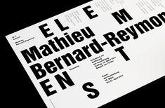 stapelberg & fritz on Behance Graphic Design Studios, Design Awards, Typography Design, Creative Design, Editorial, Behance, Flyers, Invite, Words