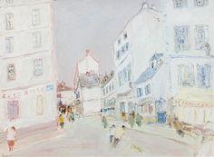 View Montmartre Rue du Mont by Jean Fusaro on artnet. Browse upcoming and past auction lots by Jean Fusaro. Past, Auction, Artists, Painting, Past Tense, Painting Art, Paintings, Painted Canvas, Artist