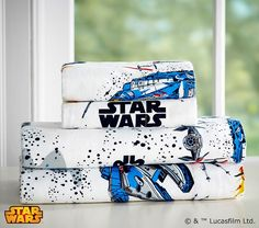 Who is your favorite Star Wars™ Character? Click to shop our new Star Wars sheets to complete your very own galaxy. #MyLittleJedi