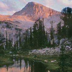 Eagle Cap Wilderness Wallowa Mountains Northeastern