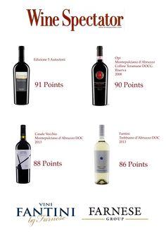 Ancora ottime notizie da #WineSpectator! Questa volta per i nostri campioni d'Abruzzo! Good news again from #WineSpectator! This Time for our #Abruzzo #Champions!  #edizione #cinqueautoctoni #montepulciano #trebbiamo #casalevecchio #fantini #vinifantini #opi #collineteramane #farnesevini #farnesegroup #viniabruzzo #wine #vino #vin #italianwine #bestitalianwine #winelover #winelovers