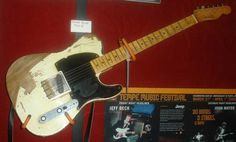 The Jeff Beck Telecaster...
