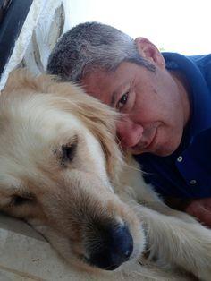 Sheila & me  #goldenretriever #doglove
